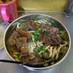 林東芳牛肉麺 深夜でも行列の人気店