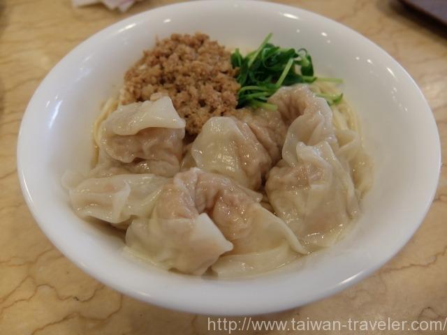 奇福扁食エビワンタン麺
