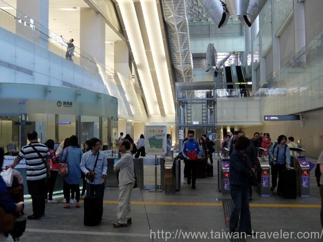 桃園空港MRT乗車レポート8