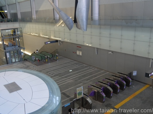 桃園空港MRT乗車レポート9