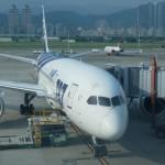 ANA NH853 羽田/台北 ビジネスクラス搭乗記