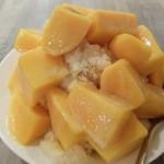 緑豆蒜啥咪 人気急上昇中のマンゴーかき氷
